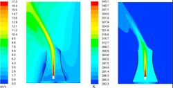 CFD Analysis Induced Draft Cooling Tower Service