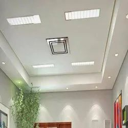 White Gypsum False Ceiling