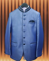 Party Blue Jodhpuri Suit