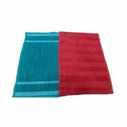 Plain Red Velvet Cleaning Cloth Napkin, Size: 14 X 21 Inch