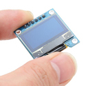 0.96 Inch 128 x 64 Blue OLED Display - Available in 4pin, 6pin, 7 pin