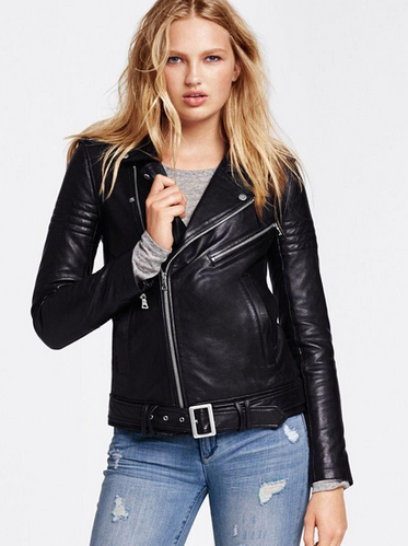 Carly Women Leather Jacket