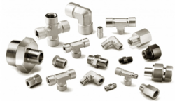 Incoloy 825 Double Ferrule Tube Fittings, Hydraulic Pipe And Pneumatic Connections