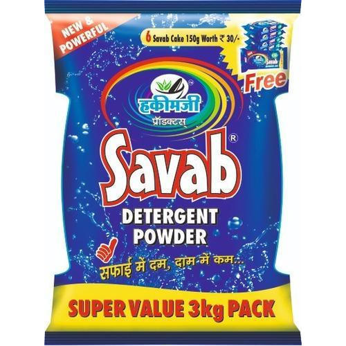 Savab 3 Kg Detergent Powder