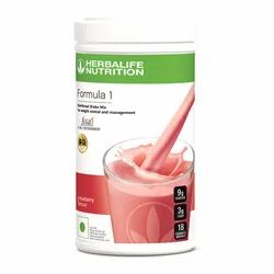 Herbalife Strawberry Formula 1 Nutritional Shake Mix