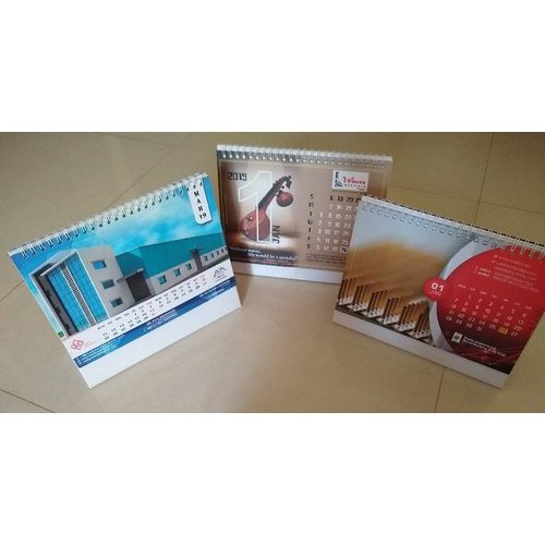 Customised Table Calendar Design
