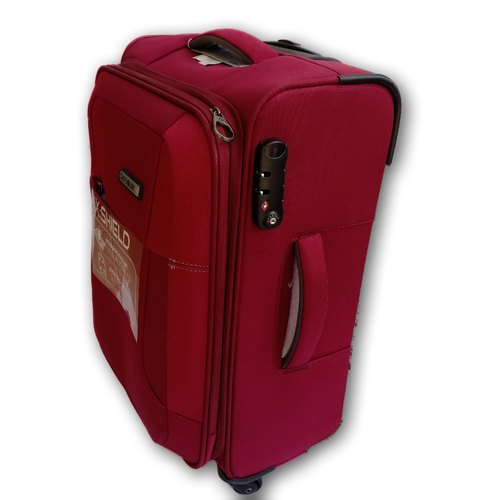 official images buying new limited quantity 55 Cm Samsonite X Shield Polyester Trolley Bag