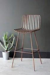 Designer Stainless Steel Chair