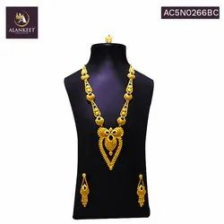 22K Gold Plated Designer Traditional Bollywood Fashion Ethnic Long Necklace Jewelry