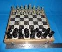 Soapstone Chess Board With Colored