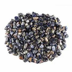 Natural Sodalite Gemstones Tumbles