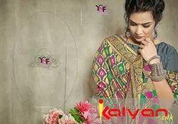 Kalyan Silk Saree Banarasi Art Silk Saree By Yadu Nandan Fashion