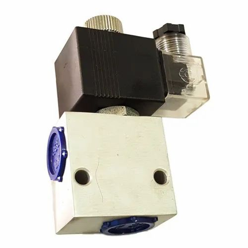 Hydraulic Double Blocking Solenoid Valve Block For Car Parking