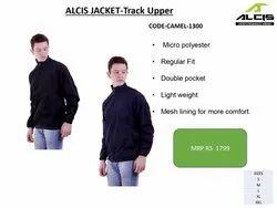 Micro Polyster Black Alcis Jacket Track Upper