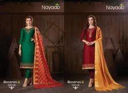 Nayaab Designer Dupatta Salwar Suit
