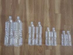 Blue PET Plastic Water Bottle