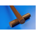 Stp Brown Bronze Filled Ptfe Rods, Size: 300 Mm
