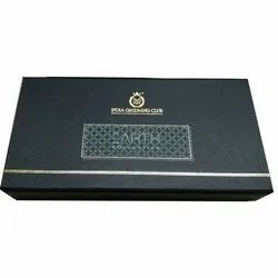 Black Fancy Customized Gift Box