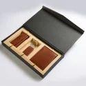 Black Wallet Boxes, Shape: Rectangle