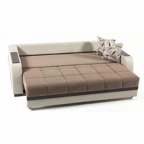 Beige Modern Sofa Bed For Home Rs