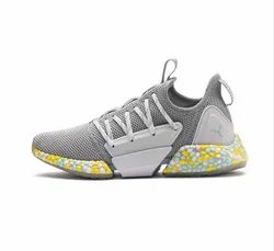 Puma Grey Hybrid Rocket Womens Running Shoes