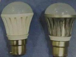 White LED Light bulb Housing, IP Rating: IP20