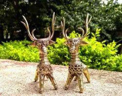 Copper Golden Dokra Handicraft