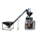 Coriander Powder Packing Machine With Base Hopper