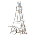 Aluminum Large Wheel Tower Ladder