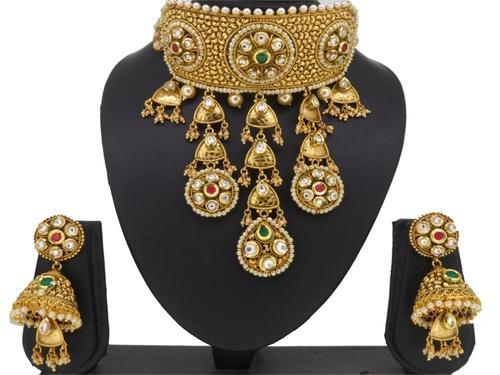 Indiacz com Antique Necklace Set