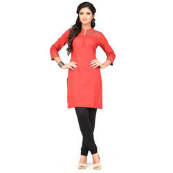 Roswel Black Ladies Plain Churidar Legging, Size: Free