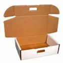 Kraft Paper Rectangular Die Cut Boxes For Multi-purpose