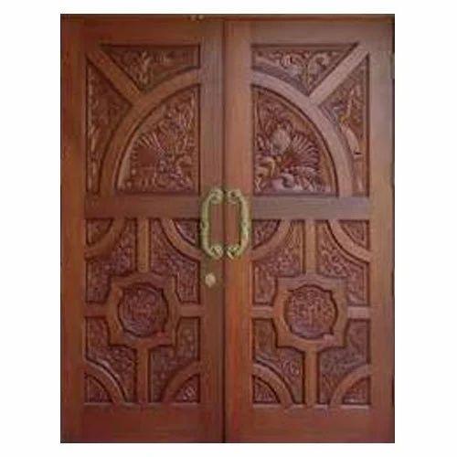 Brown Antique Wooden Door - Brown Antique Wooden Door, Rs 12050 /piece, Vrist ID: 18596472730