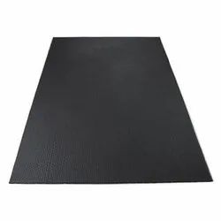 Black Rubber Cow Mat