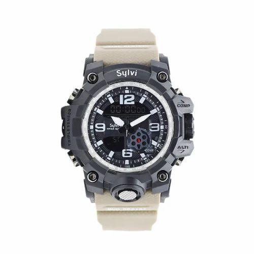 8d19893a17 Analog Digital Black Dial Men's Waterproof Watch