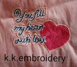 Embroidery Ladies Handkerchief