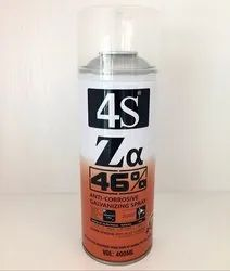 4S Zinc Anti Corrosive Galvanizing Spray