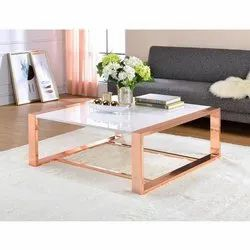 S S Golden Console Table