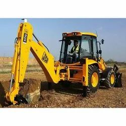 JCB Backhoe Loader Rental