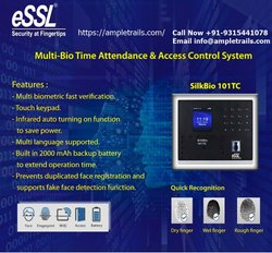 Essl Silkbio 101TC Face Recognition Based Attendance Machine