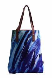Multicolor Astara Printed Tote Bag