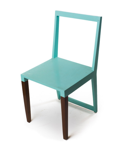 Wood Sky Blue The Backless Chair  sc 1 st  IndiaMART & Wood Sky Blue The Backless Chair Rs 8400 /piece The Mistri Tales ...