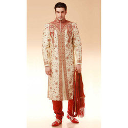 Red Wedding Sherwani