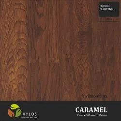 Caramel Hybrid Engineered Wooden Flooring
