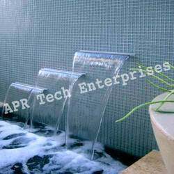 Three Step Water Sheet Fountains