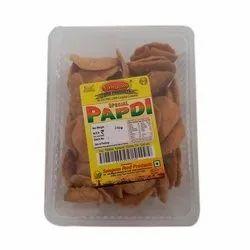 Sangam Papdi Salted Matthi Snack, Packaging Size: 150 Gram, Packaging Type: Plastic Box