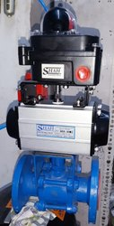 Pneumatic Double Acting Actuator Valve
