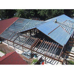 roofing shed work in thiruvananthapuram karamana by ideal solutions