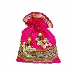Banglori Silk Gift Potli Bags, Bag Size (Inches): 9/10