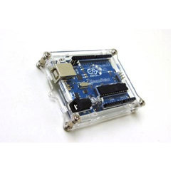 Acrylic Case or Shell for Arduino Uno R3